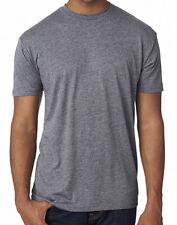 NEXT LEVEL Men's TRI-BLEND Short Sleeve T-Shirt 6010 Premium Heather MEDIUM