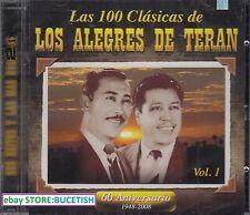 Los Alegres de Teran Las 100 Clasicas Vol 1 60 Aniversario 1948-2008 2CD New