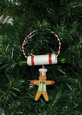 Gingerbread Man, Rolling Pin, Cooking, Cook, Chef Christmas Ornament
