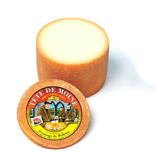 Tete de Moine AOP Fromage ca 440g pour Girolle Coupe-fromage Moitié Pain