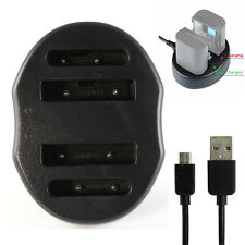USB Dual Battery Charger For MH-66 EN-EL19 Nikon S7000 S2900 S2800 S6600 S3700