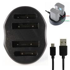 USB Dual Battery Charger For MH-61 EN-EL5 Nikon Coolpix P500 P510 P6000 P520 P90