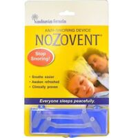 Scandinavian Formulas, NoZovent Anti-Snoring Device, 2 Medium Size Breathing Dev
