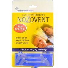 Scandinavian Formulas, NoZovent Anti-Snoring Device, 2 Medium Size Breathing Dev