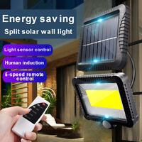 120 Lampe Solaire LED Détecteur de Mouvement Spots Extérieur Jardin