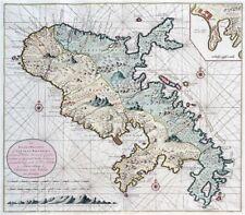 Reproduction carte ancienne - Martinique 1790