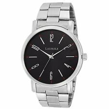 Laurels Soviet 1 Analog Black Dial Men's watch Lo-SVT-0207