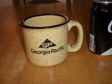 (GP) GEORGIA-PACIFIC COMPANY, Ceramic Coffee Mug / Cup, VINTAGE