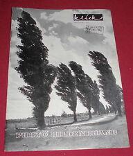 klick photo hildenbrand  prospekt katalog foto/zubehör alt werbung reklame 1952