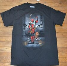 Deadpool Shirt Officially Licensed Marvel Comics T-Shirt Graphic Tee Size Large