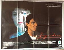 Cinema Poster: JOYRIDERS 1989 (Quad) Jim Bartley Andrew Connolly