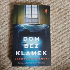 Polish book polska ksiazka, Dom bez klamek. Jędrzej Pasierski.