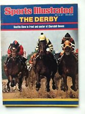 1977 SEATTLE SLEW AND CRUGUET WINS KENTUCKY DERBY SI Sports Illustrated NO LABEL