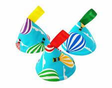 Pee Pee Teepee x3 Wee Stop Cones Teepees, Boy Baby Shower Gift / Hot Air Balloon