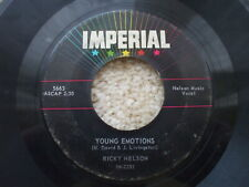 Ricky Nelson - Young Emotions / Right By My Side USA 45 jukebox -
