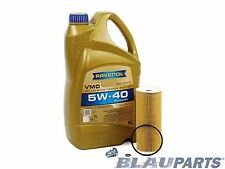 VW TDI Oil Change Kit Beetle Golf Jetta Passat BEW BHW ALH 1998-08 – RAVENOL Oil