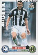 JOSE ENRIQUE # ESPANA NEWCASTLE UNITED.FC CARD PREMIER LEAGUE 2008 TOPPS
