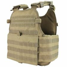 Condor MOPC-003 Molle Operator Plate Carrier Body Armor Chest Rig OPS Vest Tan