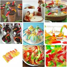 Gummy Snake Worms Mold Maker Homemade Chocolate Candy Worm Molds Set Silicone