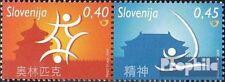 slovenia 679-680 Couple mint never hinged mnh 2008 Olympics Summer