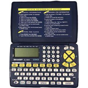 Sharp EL-6850 128KB Pocket Electronic Organiser with Backlight