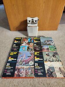 Vintage 1969 GAF Talking View Master - Working.- 4 Reel Packs -Snow White/Barbie