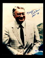 Mel Allen HOF 78 PSA DNA Coa Hand Signed 8x10 Photo Autograph