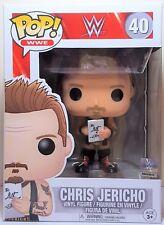 Funko Pop Chris Jericho Red Boots  # 40 WWE Vinyl Figure Brand New
