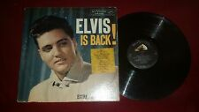 ELVIS PRESLEY - ELVIS IS BACK! - RARE 1960 RCA RECORDS LP-MONO LPM-2231