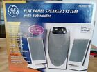 GE Flat Panel Speaker System With Subwoofer
