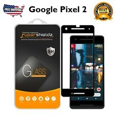 Google Pixel 2 Screen Protect Tempered Glass Anti-Scratch Bubble Free 2 PACK