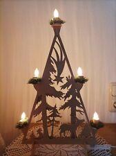 Weihnachtslichter Pyramide, Weihnachten Deko, Winterlandschaft