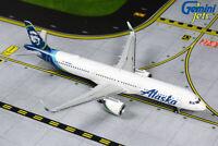 Alaska Airlines Airbus A321neo N928VA Gemini Jets GJASA1855 Scale 1:400 IN STOCK