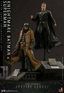 HT 1/6th scale Knightmare Batman and Superman Collectible Set TMS038
