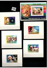 # CHAD - MNH - SPACE - SCIENCE - FAMOUS PEOPLE - SPACE - DE LUXE
