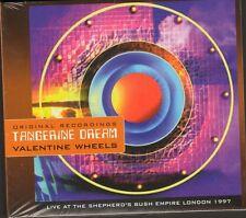 TANGERINE DREAM Valentine Wheels CD DIGIPACK NEW SEALED 1997 LIVE London