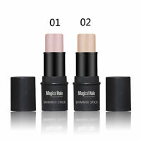 2 Farben Make up Highlighter-Stick Shimmer Powder Creme Wasserdicht  NEU.