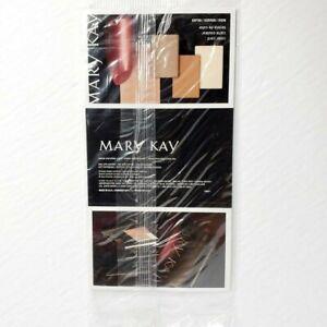 Mary Kay Sample Card Lot Of 5 REDS - Eyeshadow Blush Lipstick