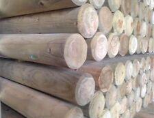 Round Wood Poles 100mm in Diameter - wooden horse jump poles