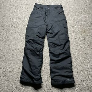 Columbia Snow Pants Black Snow Ski Youth Kids Boys Girls Size 14 16 L