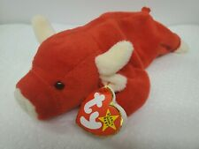 RARE Authentic NEW Ty Beanie Baby Snort Retired Collectible