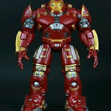 Juguete de construcción smetal película Los Vengadores Ultron versión Juguetes Iron Man Luz de dibujos animados