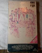 Hair VHS John Savage CBS FOX Original Red Label Hi-Fi Release Rare Vintage 1979