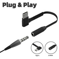 Type C to 3.5mm Aux Audio Headphone Adapter For Samsung Galaxy Note 10/S20 NEW