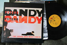 The Jesus & And Mary Chain Psycho Candy lp orig psychocandy '85 reprise w/lyric!