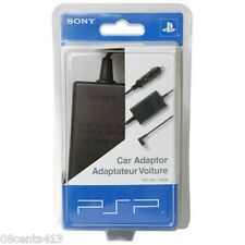 Genuine Sony (PSP-180 u / 98528) PSP Car Adapter Power Supply Charger **NEW**