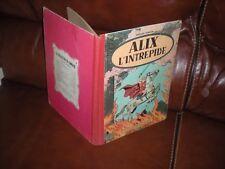 ALIX L'INTREPIDE - EDITION ORIGINALE 1956 DOS ROUGE DERNIER TITRE LE PUITS 32