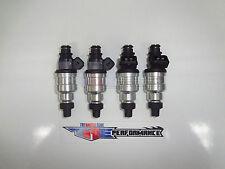 4 TRE 400cc Fuel Injectors Fit Denso Turbo 4G63T EVO VIII IX X FC3S 13B 20B 4AGE
