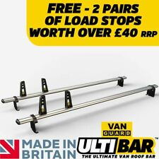 01-14 Standard Roof Rhino Delta 3 Bar Heavy Duty Roof Rack for Renault Trafic