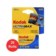 20 Rolls Kodak UltraMax GC 400 135-24 Color Print 35mm Film **Fresh Date**